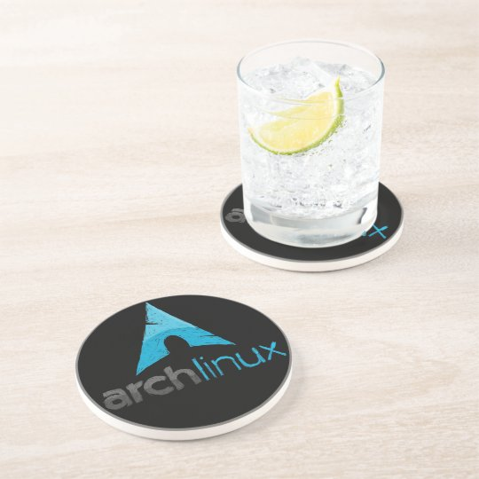 Arch Linux Logo Coaster
