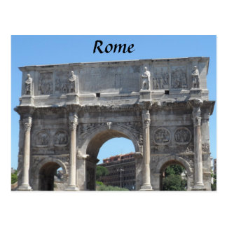 Arch of Constantine, Rome Postcard