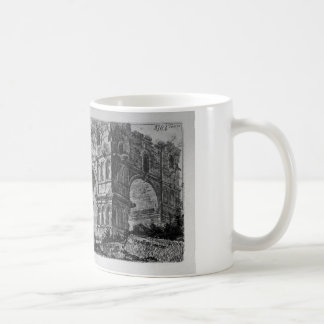 Arch of Titus in Rome by Giovanni Battista Piranes Coffee Mug