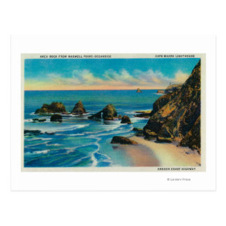 Arch Rock from Maxwell Point, OceansideCoast Postcard