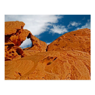 Arch Rock, Red Rock Canyon State Park Postcard