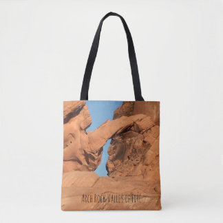 Arch Rock Valley of Fire Tote Bag