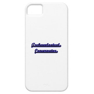Archaeological Conservator Classic Job Design iPhone 5 Cover
