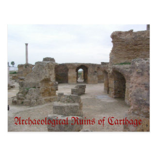 Archaeological Ruins of Carthage Postcard