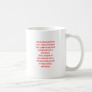 ARCHAEOLOGY COFFEE MUG
