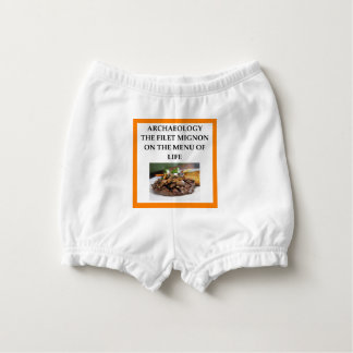 ARCHAEOLOGY DIAPER COVER