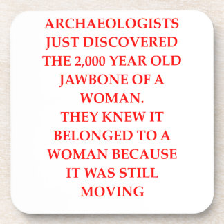 ARCHAEOLOGY DRINK COASTERS