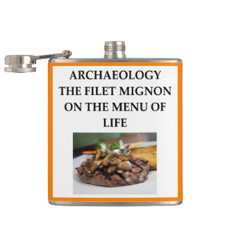 ARCHAEOLOGY HIP FLASK