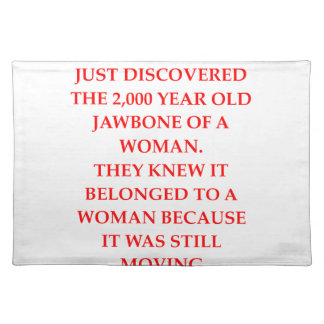 ARCHAEOLOGY PLACEMAT