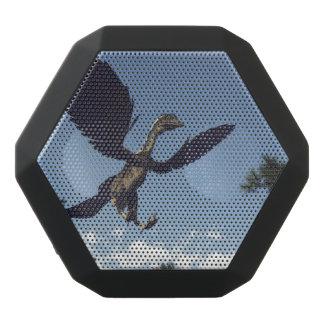 Archaeopteryx birds dinosaurs flying - 3D render Black Bluetooth Speaker