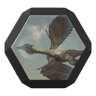 Archaeopteryx birds dinosaurs flying - 3D render Black Bluetooth Speaker