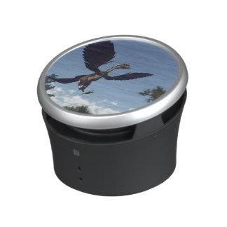 Archaeopteryx birds dinosaurs flying - 3D render Bluetooth Speaker