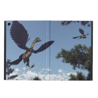 Archaeopteryx birds dinosaurs flying - 3D render Case For iPad Air