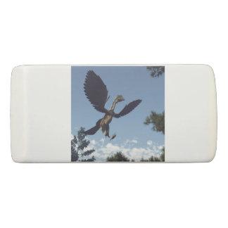 Archaeopteryx birds dinosaurs flying - 3D render Eraser