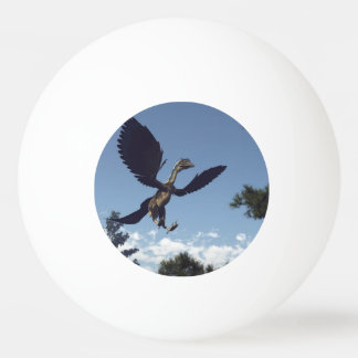 Archaeopteryx birds dinosaurs flying - 3D render Ping Pong Ball