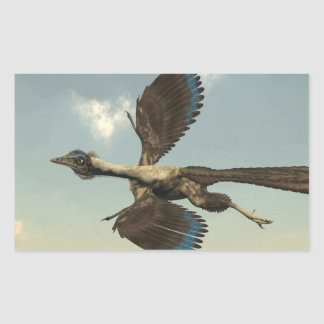 Archaeopteryx birds dinosaurs flying - 3D render Sticker