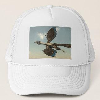 Archaeopteryx birds dinosaurs flying - 3D render Trucker Hat
