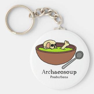 Archaeosoup Badge Keychain