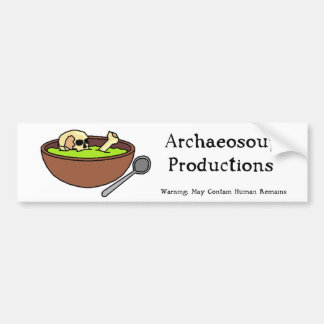 Archaeosoup Productions Bumper Sticker