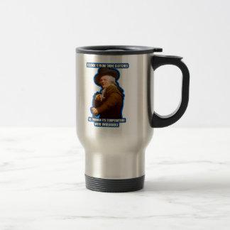 Archaic Rap $22.95 Travel Mug