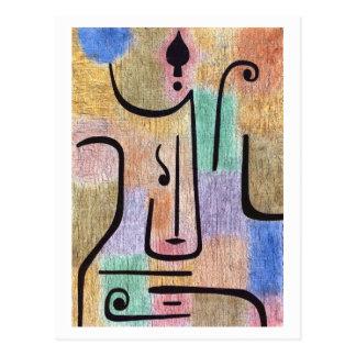 Archangel By Paul Klee Postcard