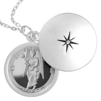 Archangel Cassiel locket