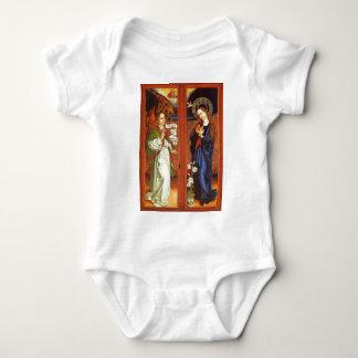 Archangel Gabriel - Annunciation - Schongauer Baby Bodysuit