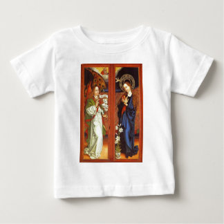 Archangel Gabriel - Annunciation - Schongauer Baby T-Shirt