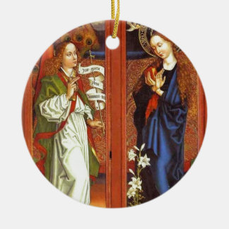 Archangel Gabriel - Annunciation - Schongauer Ceramic Ornament