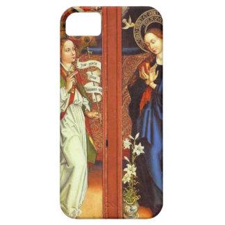 Archangel Gabriel - Annunciation - Schongauer iPhone 5 Cases