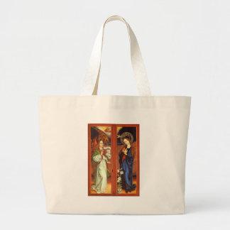 Archangel Gabriel - Annunciation - Schongauer Large Tote Bag