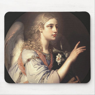 Archangel Gabriel from the Annunciation Mouse Pad