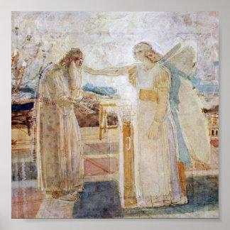 Archangel Gabriel, Portfolio 11x11 Poster