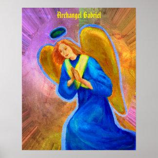 """Archangel Gabriel Poster 16""""x20"""""""