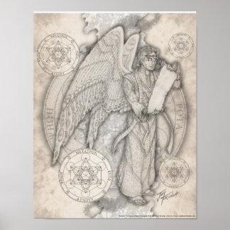 Archangel Metatron Print