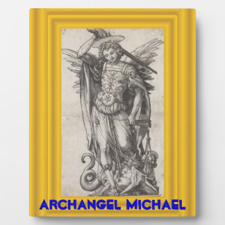 Archangel Michael plaque