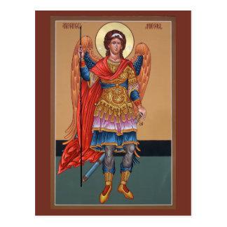 Archangel Michael Prayer Card Post Card