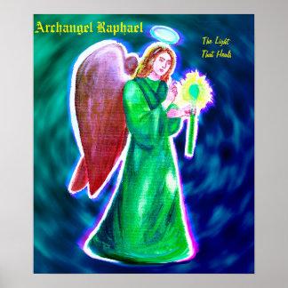 "Archangel Raphael Poster (16"" x 12"")"