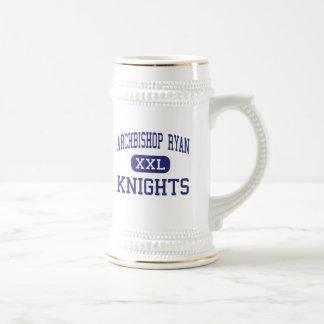 Archbishop Ryan - Knights - High - Omaha Nebraska Beer Stein