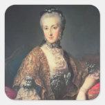 Archduchess Maria Anna Habsburg-Lothringen Square Sticker