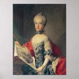 Archduchess Maria Carolina Poster