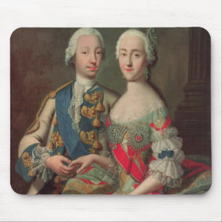 Archduchess Maria Caroline of Austria Mouse Pad