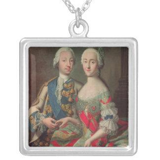 Archduchess Maria Caroline of Austria Silver Plated Necklace