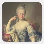 Archduchess Marie Antoinette Square Sticker
