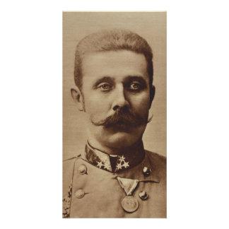Archduke Franz Ferdinand of Austria Customized Photo Card