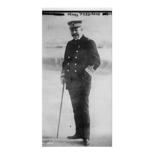 Archduke Franz Ferdinand of Austria Personalized Photo Card