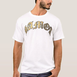 Arched SAMOA Gold T-Shirt