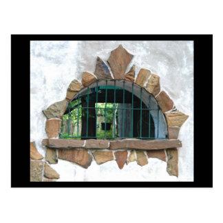 Arched Stone Window ©2008 Postcard
