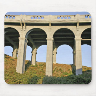 Arched supports Patterson Memorial Bridge Mouse Pad
