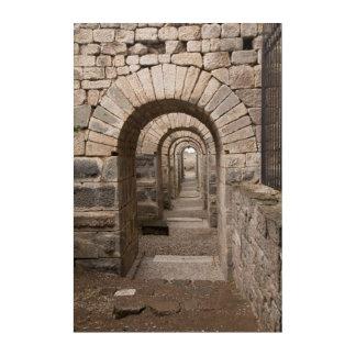 Arched Walking In Pergamon Acrylic Print